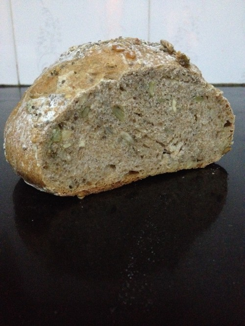 multi-seed wholemeal bread
