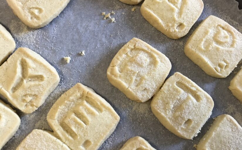 Scrabble Shortbread Tiles